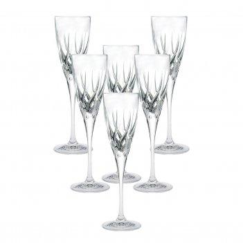 Набор фужеров для шампанского rcr trix 120 мл