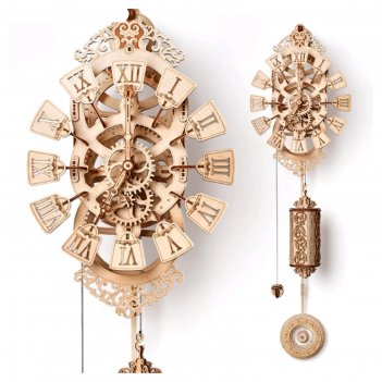 Механическая сборная модель «маятниковые часы»