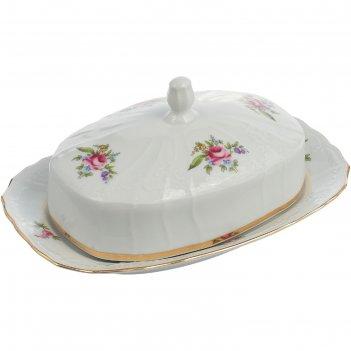 Масленка, bernadotte, декор мейсенский букет