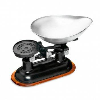 Весы кухонные механические, размер: 34 х 27 см, материал: металл, netscabl