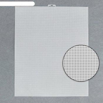 Канва для вышивания, 26 x 33 см, цвет белый