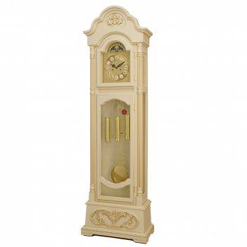 Механические напольные часы  cr-2027 ivory gold