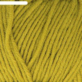 Пряжа lanagold 51% акрил, 49% шерсть 240м/100гр (193 фисташка)