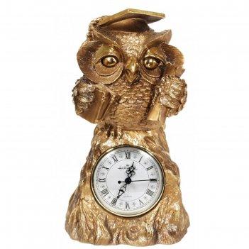 Часы учёная сова