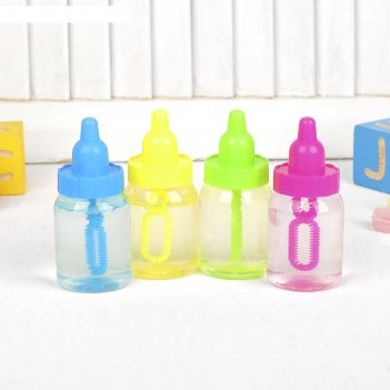 Мыльные пузыри бутылочка, 40мл, цвета микс