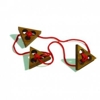 Три треугольника головоломка арт 6105