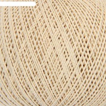 Нитки вязальные лилия 440м/75гр 100% хлопок цвет 3600