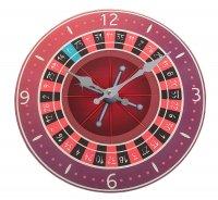 Часы настенные из стекла русская рулетка