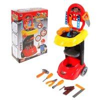 Игровой набор тележка-мастерская, с электрической дрелью