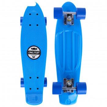 Скейтборд m-550, размер 56x14 см, колеса pvc d= 55х40 мм