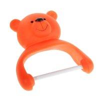 Держатель для туалетной бумаги медвежонок, на присосках