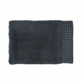 Полотенце holly, размер 50 x 90 см, цвет черная