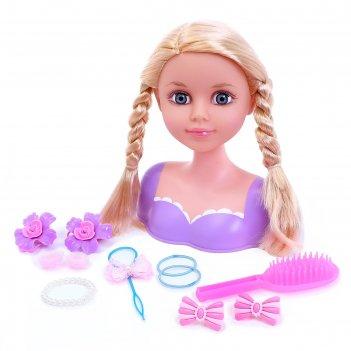 Кукла-манекен для создания причёсок «катрина» с аксессуарами
