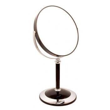 Зеркало b7 8011 blk/c black наст. кругл. 2-стор. 5-кр.ув.18