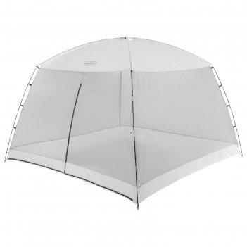 Шатер туристический 305х305х202 см, цвет серый