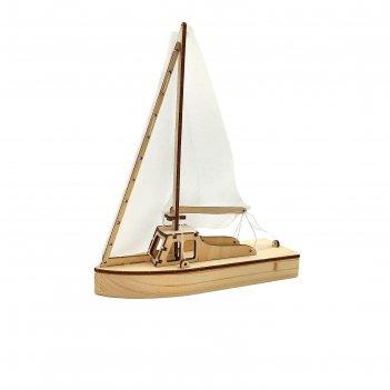 Конструктор-набор для сборки «парусная яхта»
