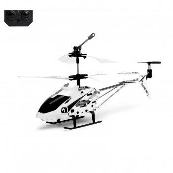 Вертолет радиоуправляемый с гироскопом, цвет белый