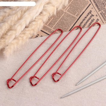 Булавки для вязания вспомогательные 2мм*17см( фасовка 3шт)