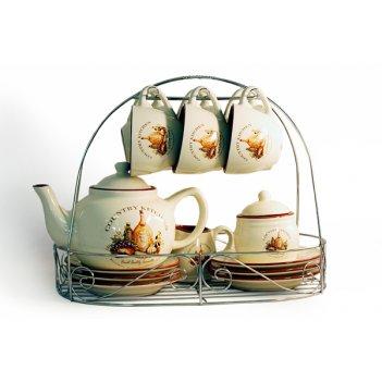 Чайный сервиз из 15 предметов на 6 персон сардиния