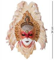 Ws-361 венецианская маска перо павлина