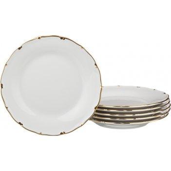 Набор тарелок из 6 шт.симона диаметр=19 см. (кор=1набор.)