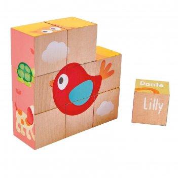 Кубики «лили», 9 элементов