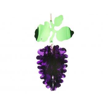 Декоративное изделие подвес виноград 20*11 см.