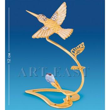 Ar-4056 композиция колибри со стразами (юнион)