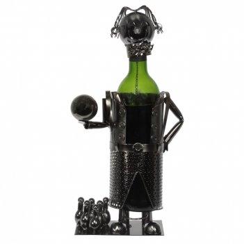 Подставка для бутылки боулер, l19 w12,5 h23,7 см