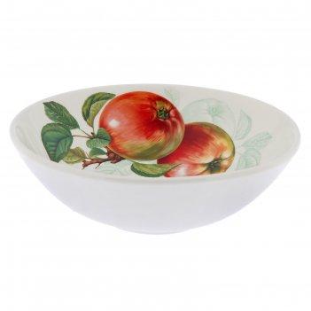 Салатник 500 мл соната. яблоки, 17 см
