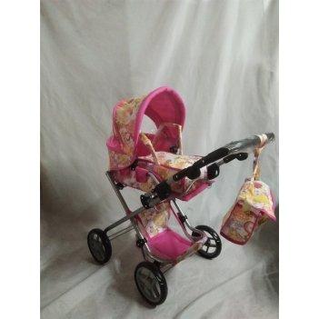 Коляска для куклы с сумкой в комплекте,76,5х44х83