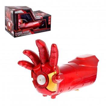 Бластер «суперперчатка», стреляет гелевыми пулями, работает от аккумулятор