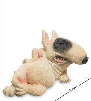 Rv-888 фигурка собака бультерьер (w.stratford)