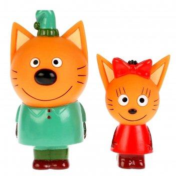 Игрушка для ванны три кота. карамелька и компот st-ft1809-07 (100)