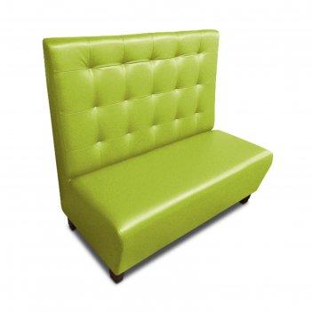 Диван «фаст-фуд пл», 1200 x 650 x 1100 мм, экокожа, цвет салатовый