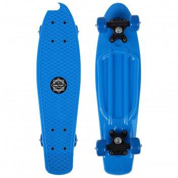 Скейтборд m-350, размер 56x14 см, колеса pvc d= 50 мм