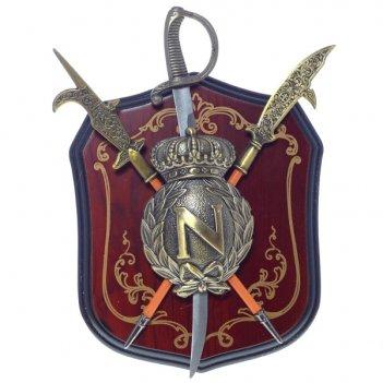 Панно рыцарские доспехи, l19 w5 h23 см