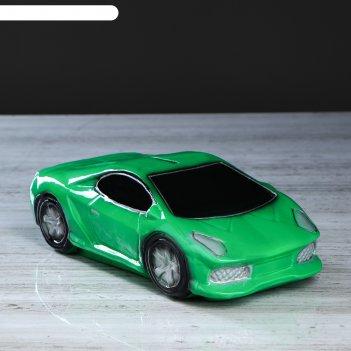 Копилка машина мечты, цвет зелёный, 7,5 см