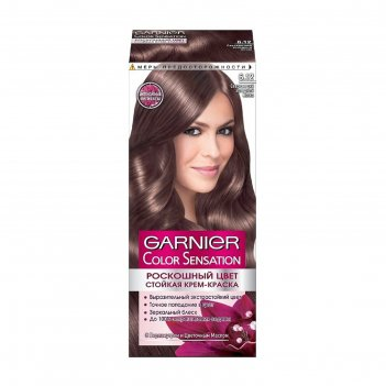 Краска для волос garnier color sensation «роскошный цвет», тон 6.12, сверк