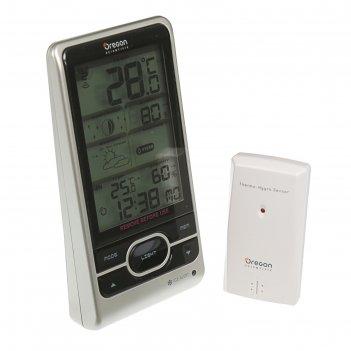 Метеостанция oregon scientific bar208hg target, прогноз, влажность, радио-