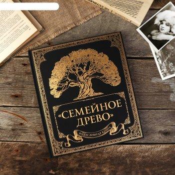 Фотоальбом родословная книга семейное древо 132 страницы 24,5 х 28 см