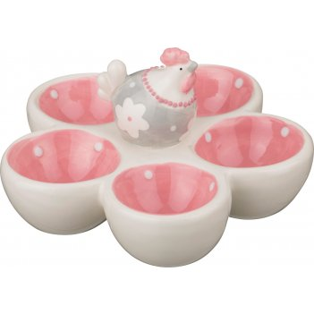 Подставка для 5-ти яиц happy easter 14,5*14*8 см...