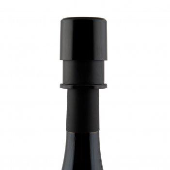 Пробка вакуумная для вина basic черная