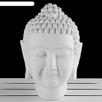 Гипсовая фигура экорше голова будда 31*20,5*44 10-143