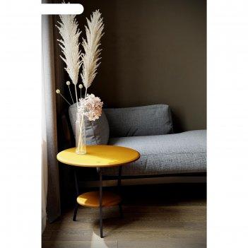 Стол журнальный «шот», 550 x 550 x 500  мм, цвет карри