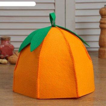 Грелка на чайник апельсин