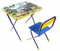 Набор детской мебели познайка - ловись, рыбка. маша и медведь складной: ст