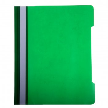 Папка-скоросшиватель а4 бюрократ зеленая