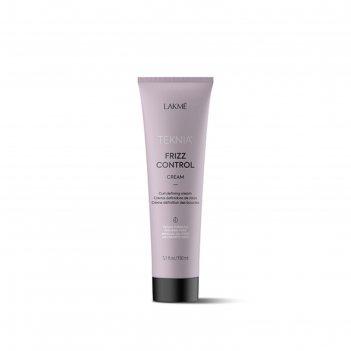 Крем для волос lakme teknia frizz control cream, подчеркивающий кудри, 150
