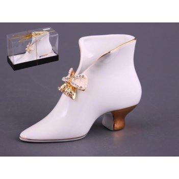 Салфетница-туфелька venezia длина=15 см высота=10 см (кор=36шт.)